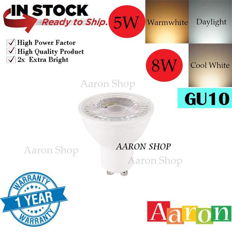 3W 5W 7W GU10 MR16 LED SMD Spotlight Bulbs Light High Power Day Warm White