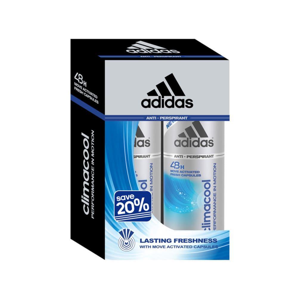 100% authentic 2018 shoes many fashionable Adidas Women's Climacool Deodorant Spray (150ml x 2)