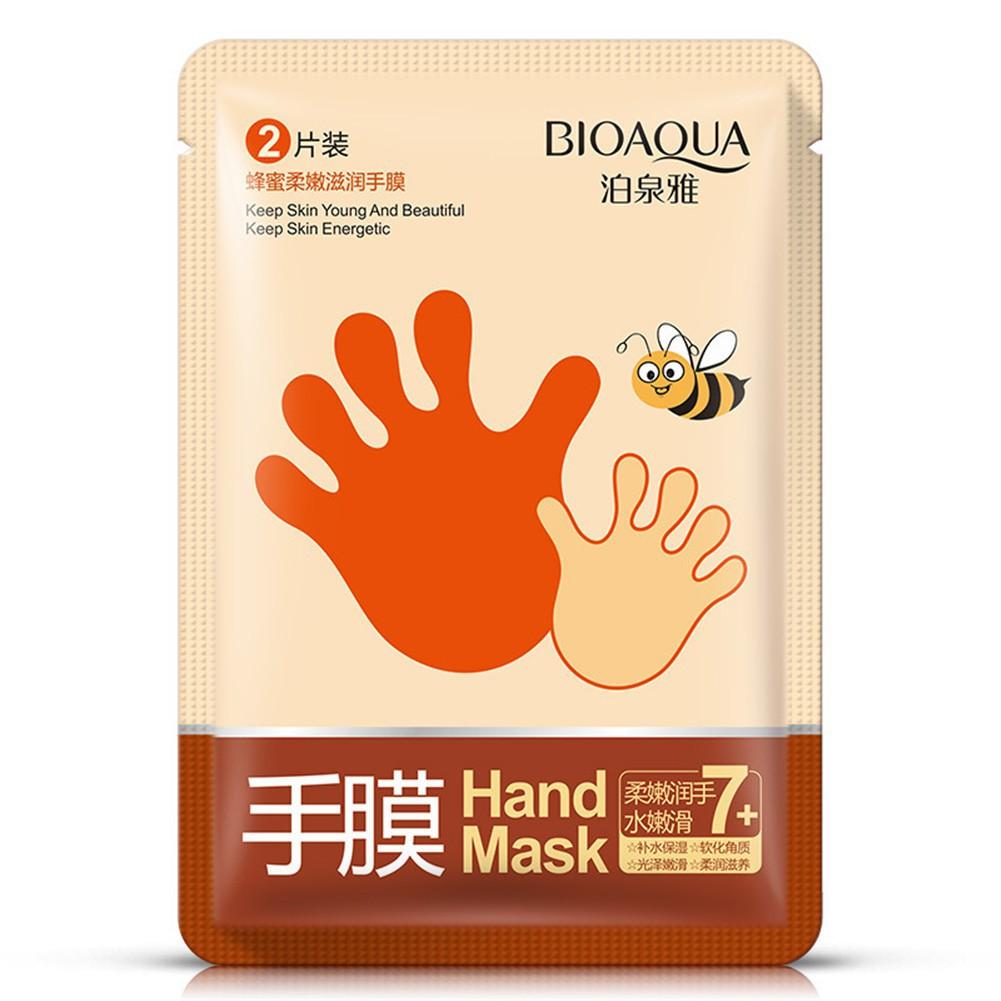 Bioaqua Hand Mask Masker Honey Moisturizing Smoothing Cream Cream Hand Care