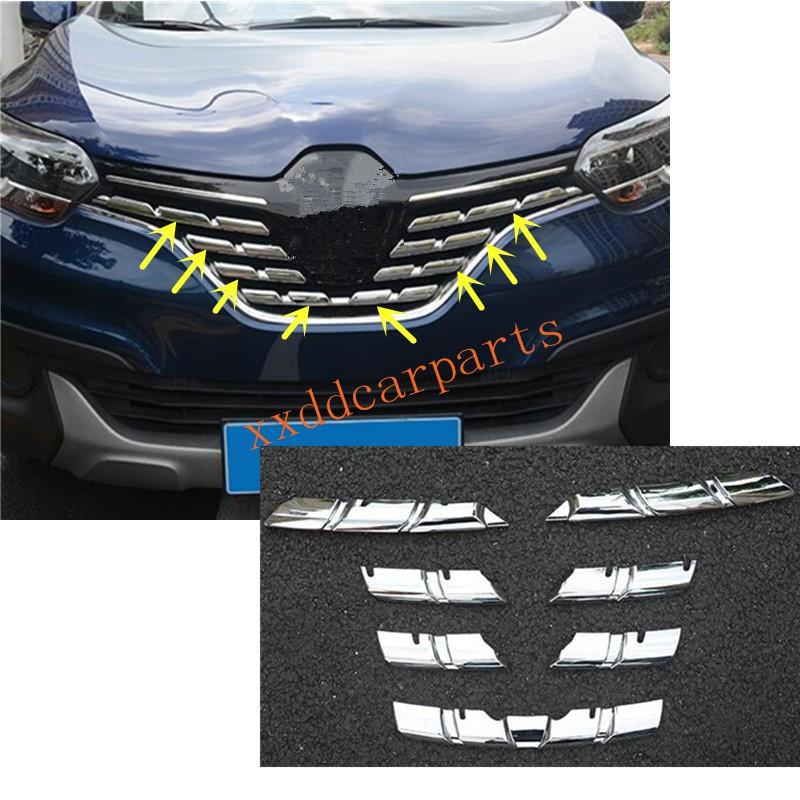 Renault Kadjar 2015 2016 2017 2018 Front Grille Moulding Set Chrome