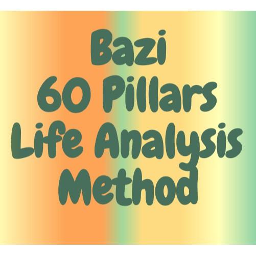 Bazi 60 Pillars Life Analysis