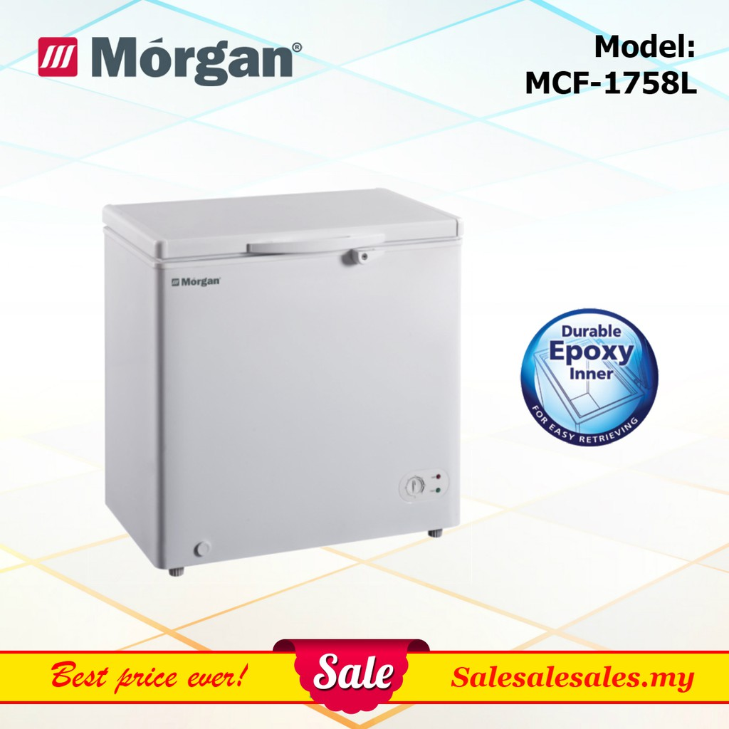 Morgan MCF-1758L 155L Chest Freezer (with Chiller Function) Peti Beku