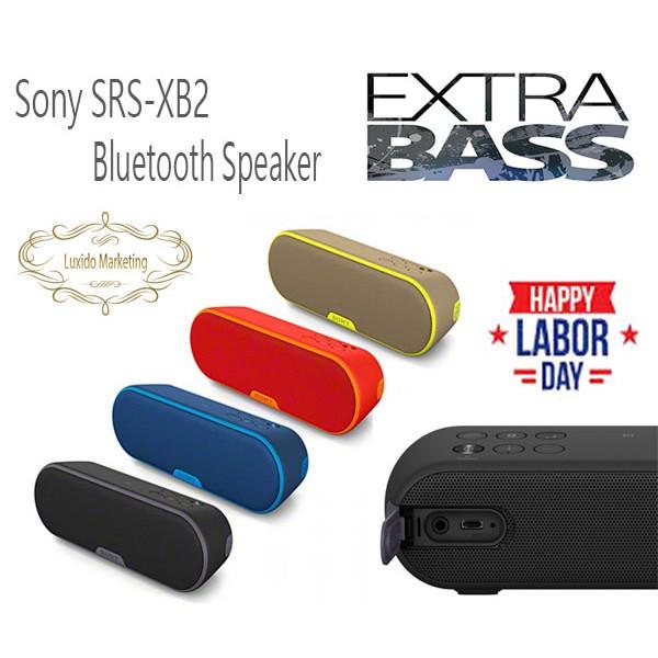 New Promotion !! Sony SRS-XB2 Extra Bass Wireless Bluetooth Splashproof  Speaker