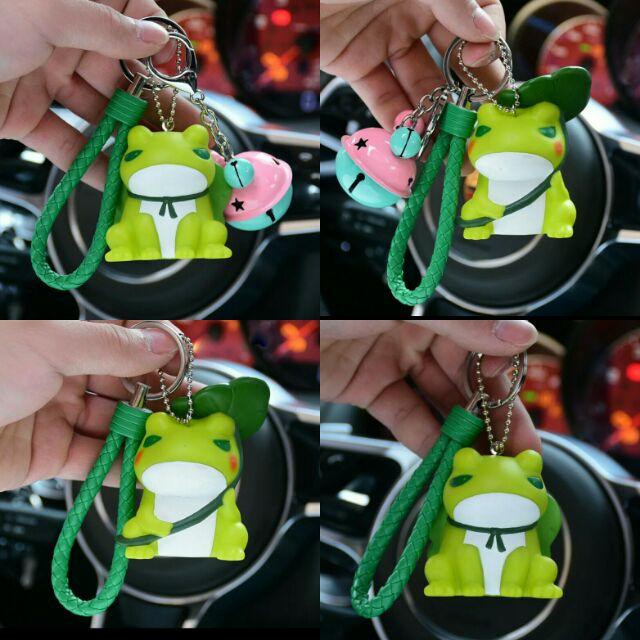 Frog Cute Keychain Tabi Kaeru Key Chain 旅游青蛙可爱钥匙扣圈