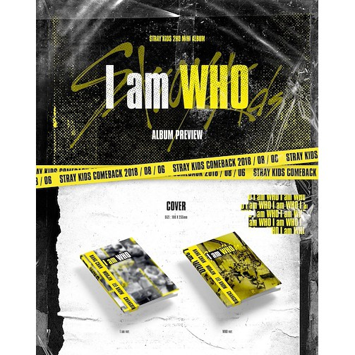 {PRE-ORDER} Stray Kids – Mini Album Vol 2 [I AM WHO]