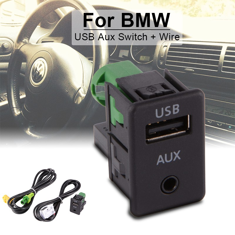 Aux Switch + Wire Cable Adapter for VW Golf MK6 Jetta MK5 RCD510 RCD310 AC518 | Shopee Malaysia