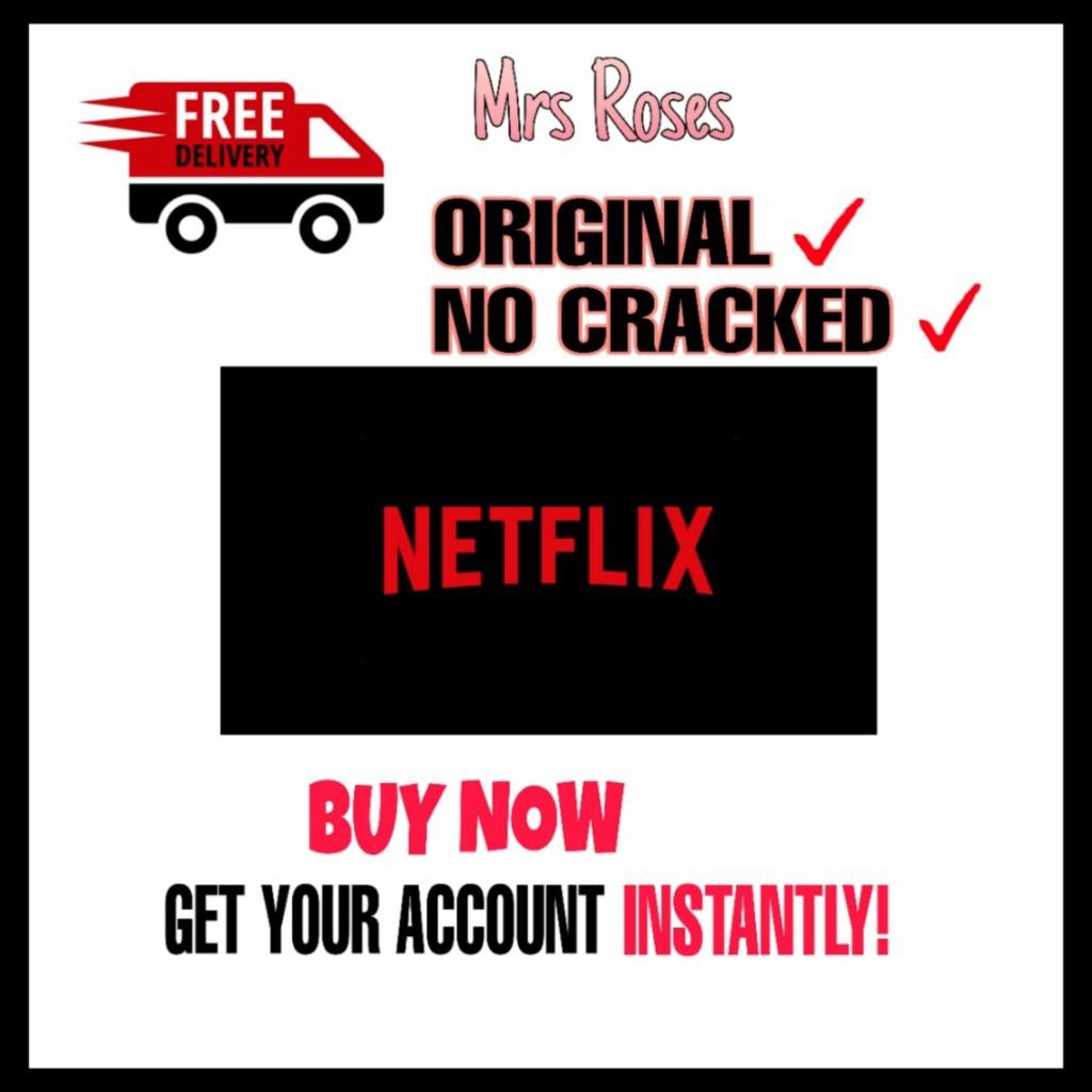 Limited Time Deals Netflix Premium Shared Account Shopee