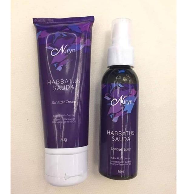 Nuryn Sanitizer cream/spray
