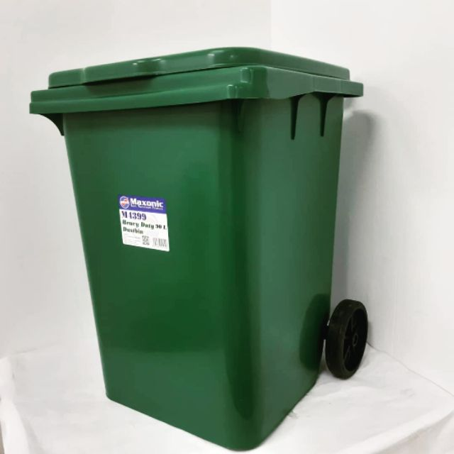 Maxonic 90Lit Recycle Bin With Wheel