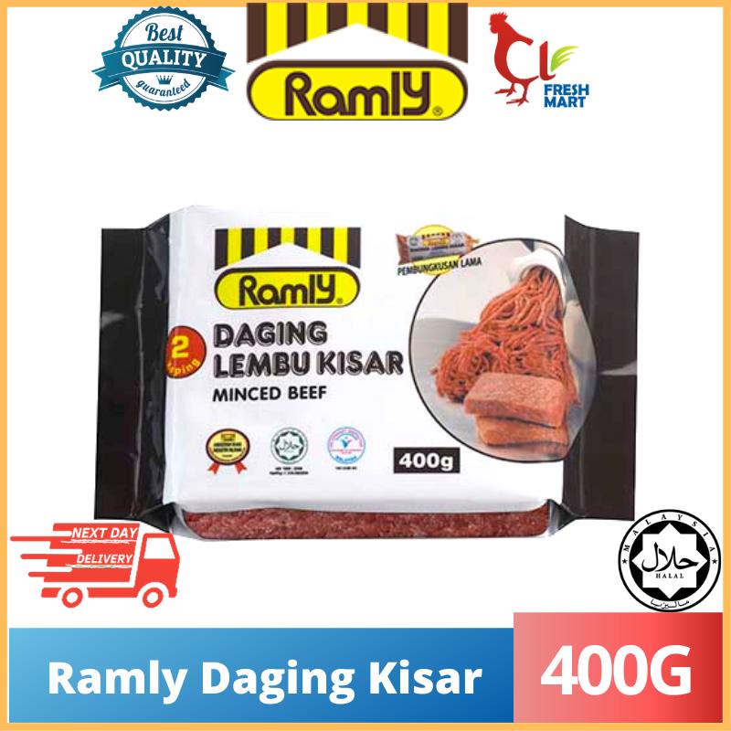 Ramly Minced Beef Daging Kisar 400g Shopee Malaysia