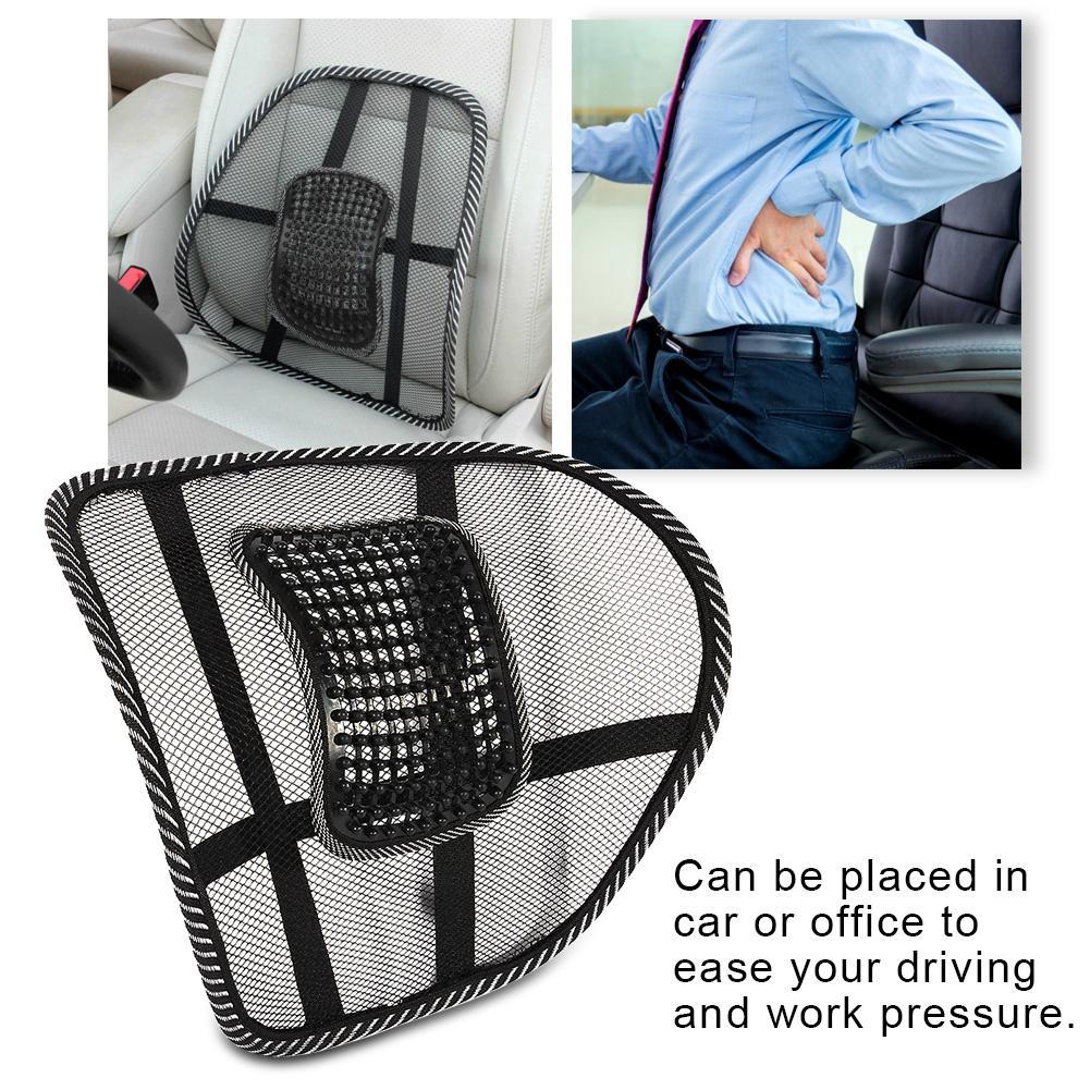 Car Seat Cushion Waist Lumbar Back Cushion Support Pad