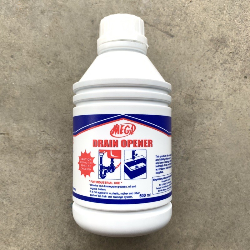 MEGA Multiple Purpose Drain Opener / Sink Acid Trap 500 ml