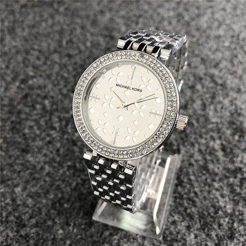 TOP MICHAEL KORS classic women watch MK Cherry blossom print diamond watches