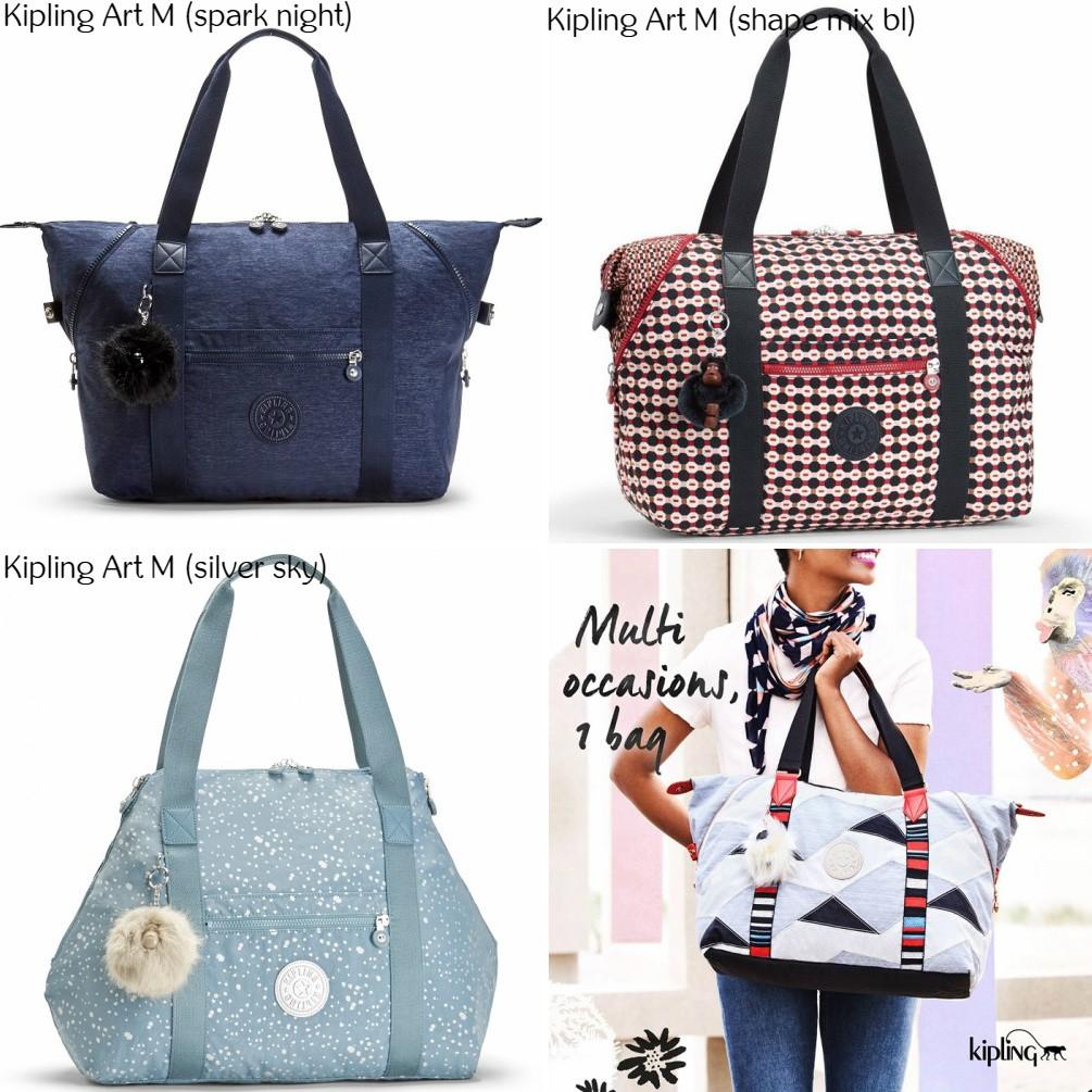 NWT Authentic Kipling New Shopper S Shoulder Crossbody Bag Tote ... fa8c7c82cafc9