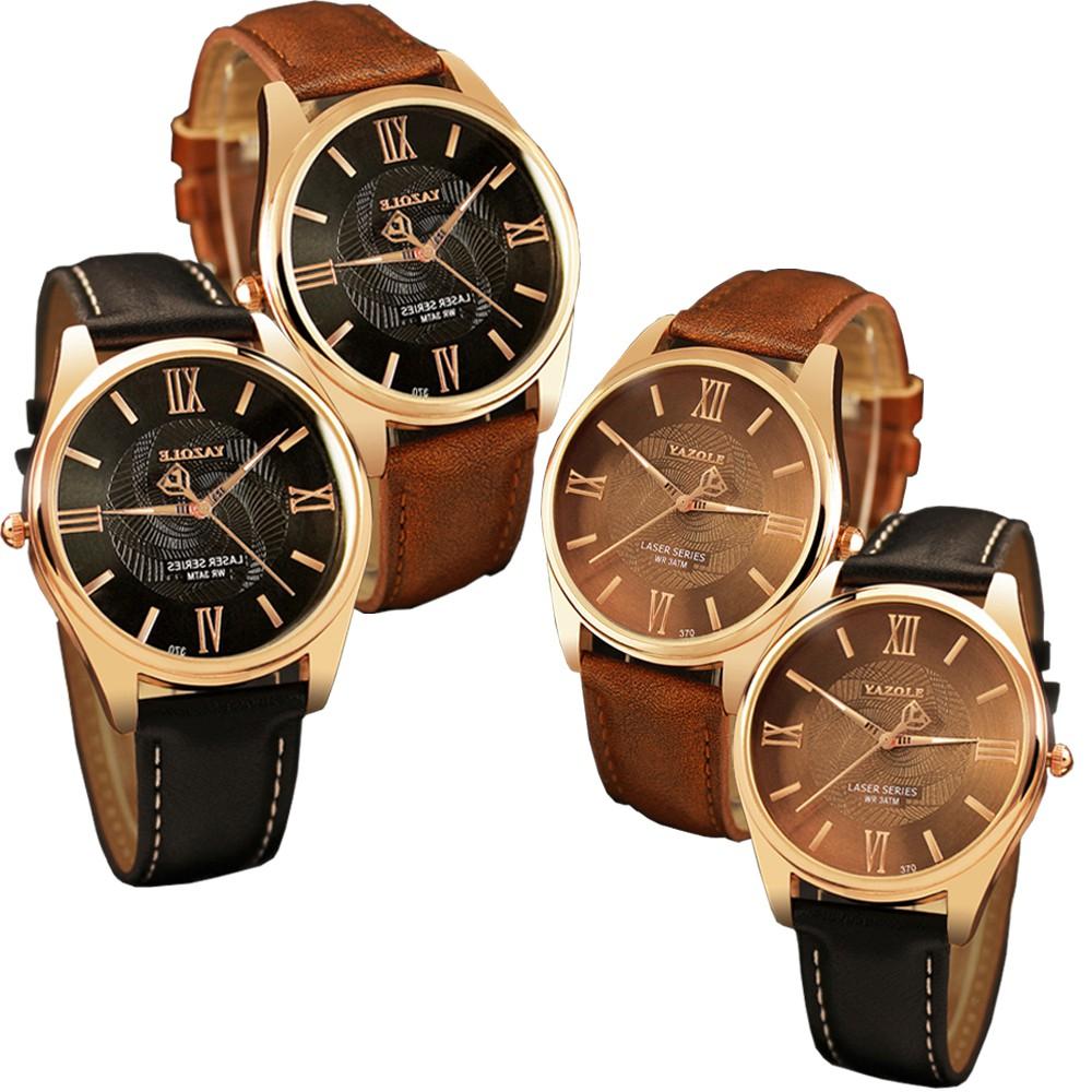 Skmei 100 New Mens Business Watch Quartz Shopee Malaysia Yazole 296 Jam Tangan Pria Original Watches Black Dial