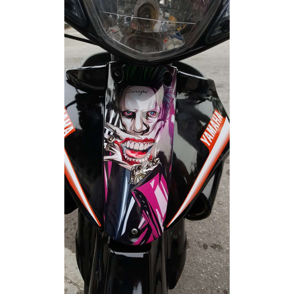 Joker sticker horn cover shopee malaysia