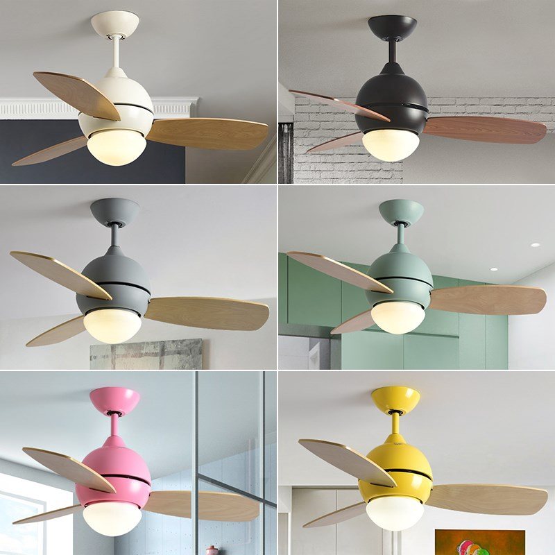 Ceiling Fans With Lights Kid Ceiling Fan Light Children Room Fan Light With Remote Controller Bedroom Ceiling Fans Shopee Malaysia