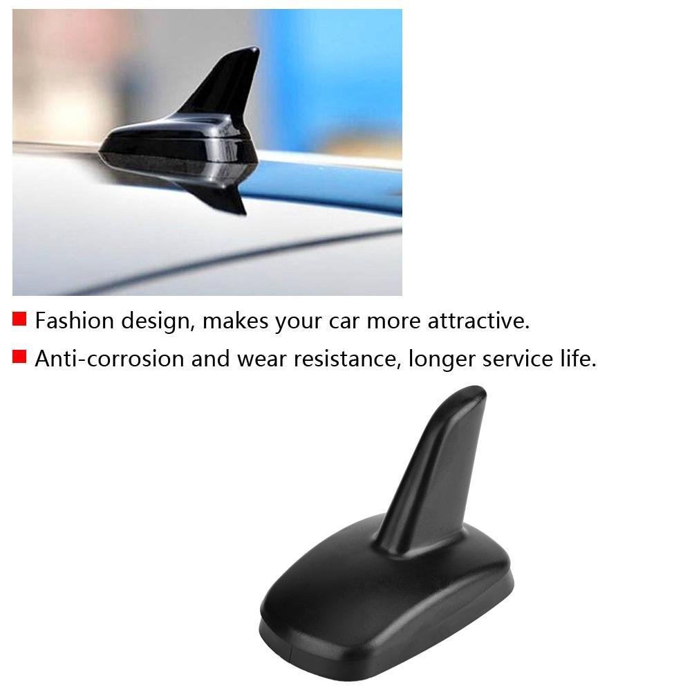 Car Antenna Car Black Shark Fin Roof Antenna Decoration for AUDI A3 2016-2018 3897ZIY