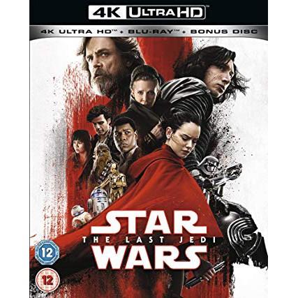 Star Wars: The Last Jedi [4k Blu-ray] Steelbook #Bluray