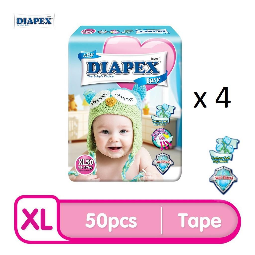 DIAPEX Easy Mega XL (50pcs x 4)