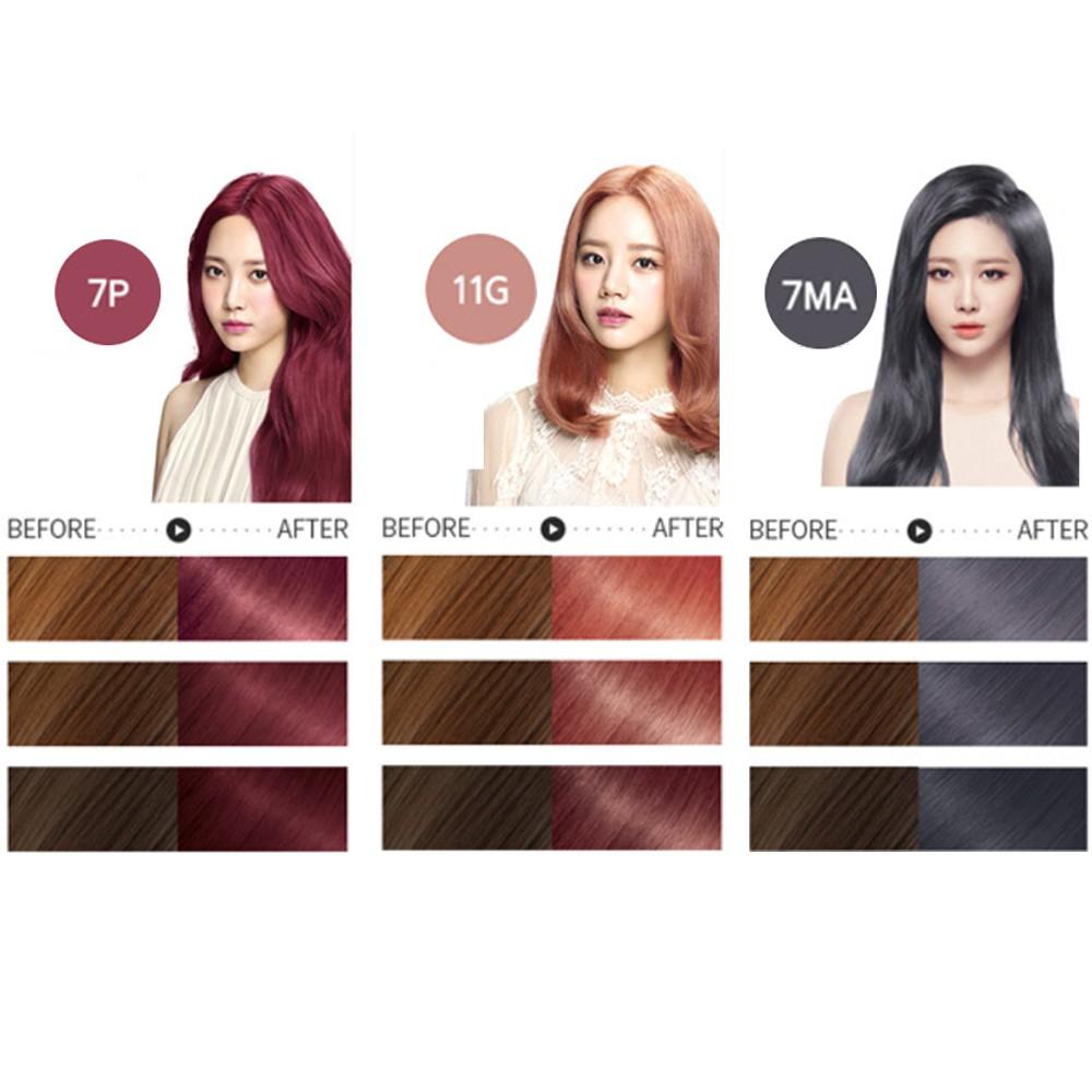 【CLEARANCE】Mise En Scene Hello Bubble Foam Color Dye
