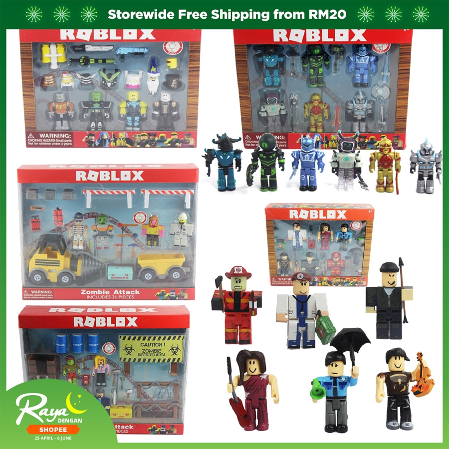 Roblox Figure jugetes Sets 7cm PVC roblox-game acction Figura Roblox Boy Toy