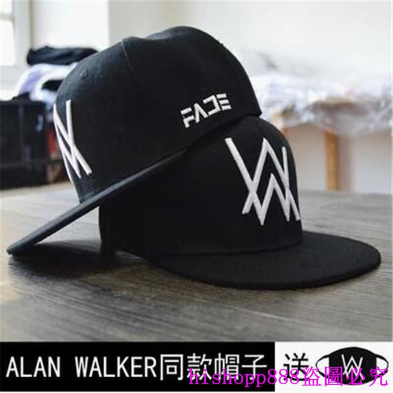 7f8d02977 (stock) van walker alan walker dj hip-hop flat eaves baseball hat for men  and wo