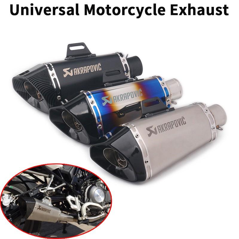 Universal Motorcycle 51mm Exhaust Muffler DB Killer For Z900 R25 Z250  GSX150R R6
