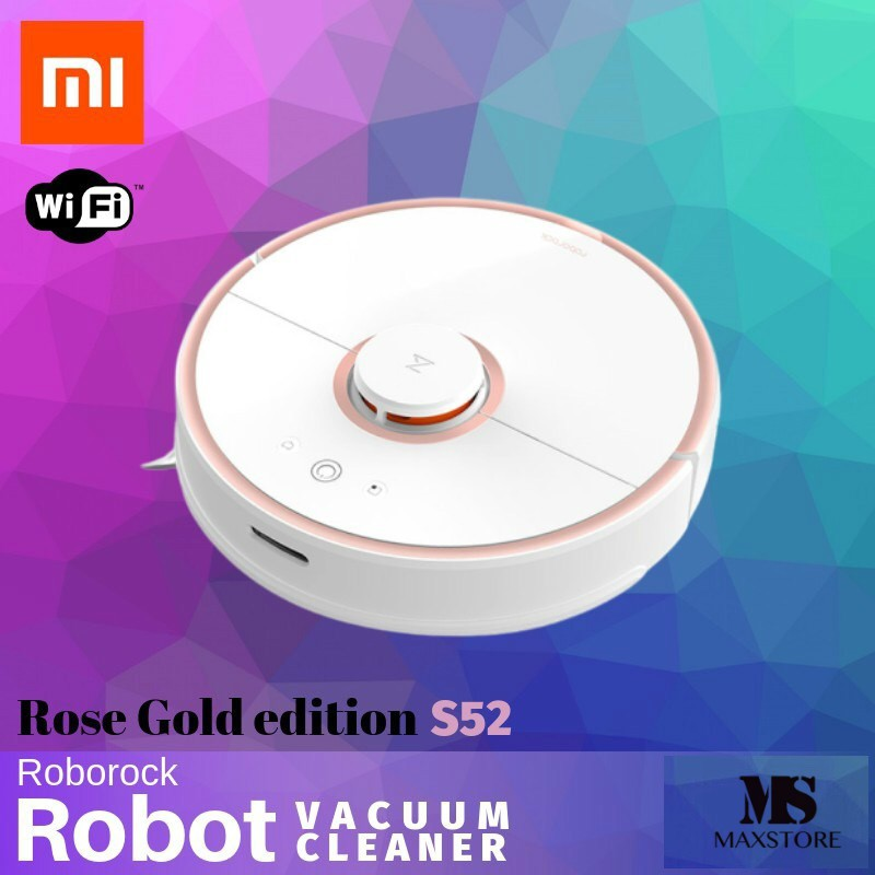 Xiaomi Roborock Robot Vacuum Cleaner 2 In 1 Sweep And Mop - Smart Home Wi-Fi