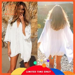 e785fca71f0c8 🔥HOT SALE🔥 Women Sexy Bathing Suit Lace Crochet Bikini Cover Up Beach  Dress