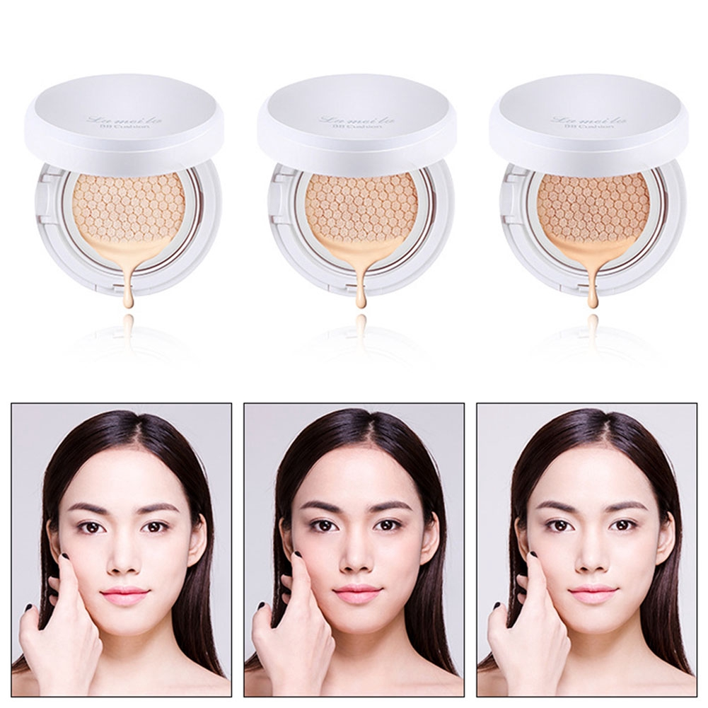 Women Multifunction Moisturizing Portable Air Cushion Cosmetics Whitening Long Lasting BB Cream