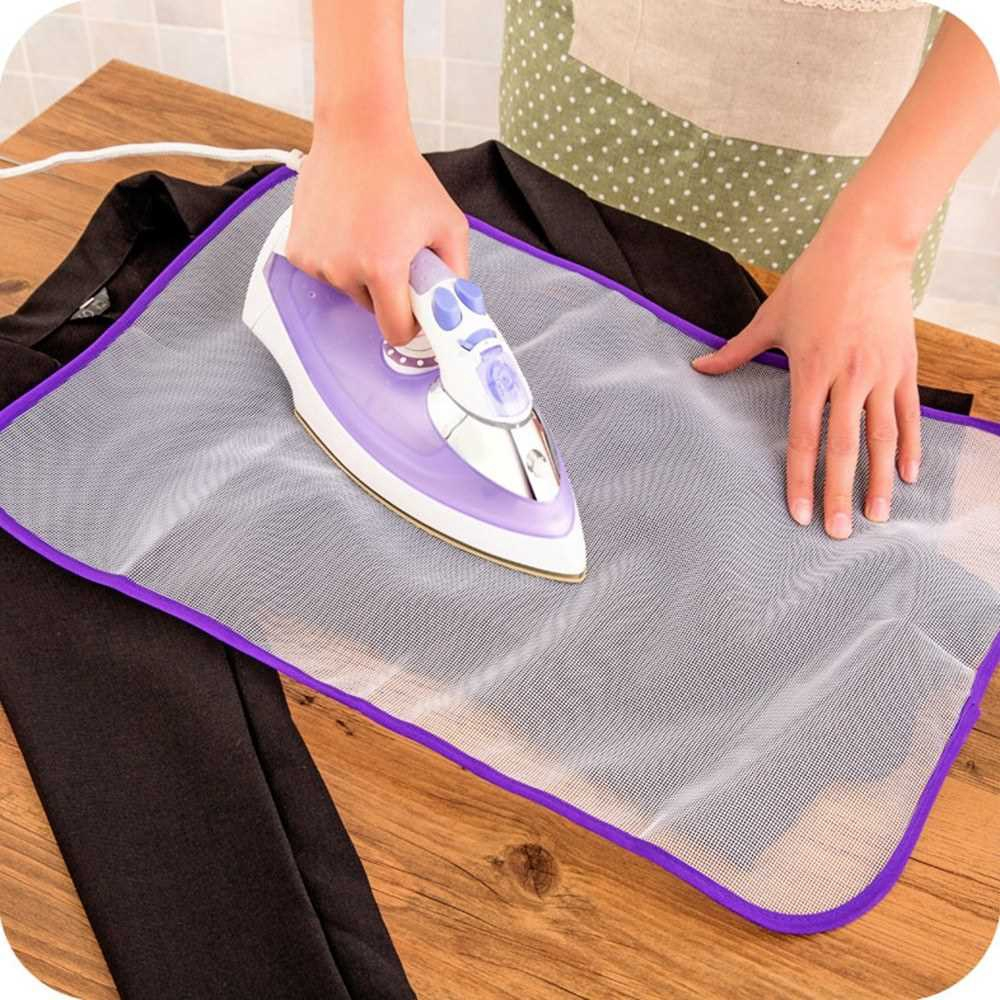 Ironing Board Cover Protective Heat Resistant Ironing Mesh Cloth Protective Insulation Pad Home Ironing Mat (2)