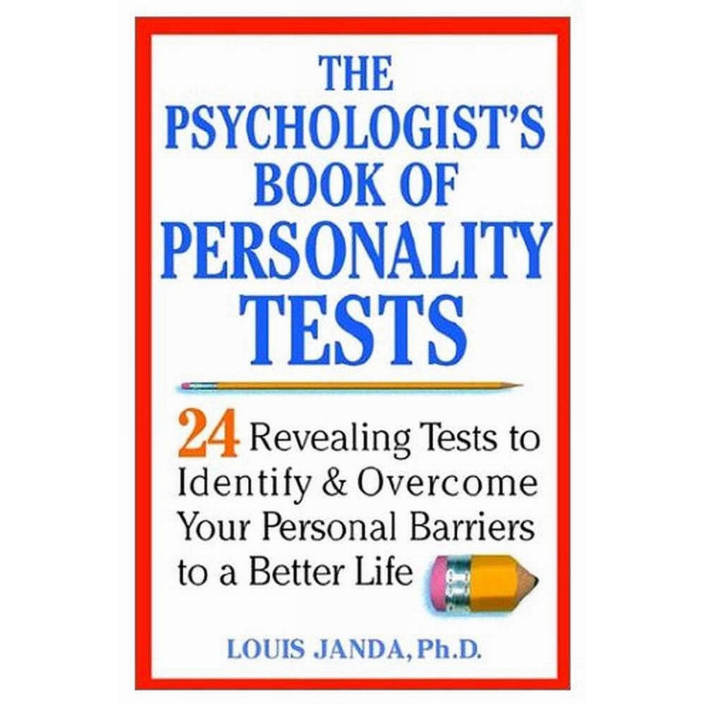 Ebook The Psychologist S Book Of Personality Tests Shopee Malaysia