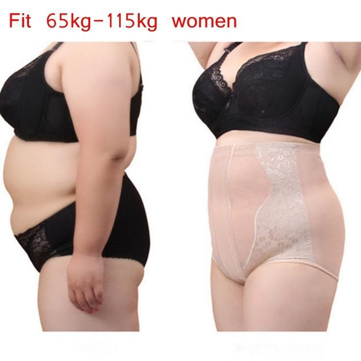 Plus Size Women Panties Body Shaper Beauty High Waist Girdle Pants Breathable Sexy Underwear Women Butt Lifter Slimming
