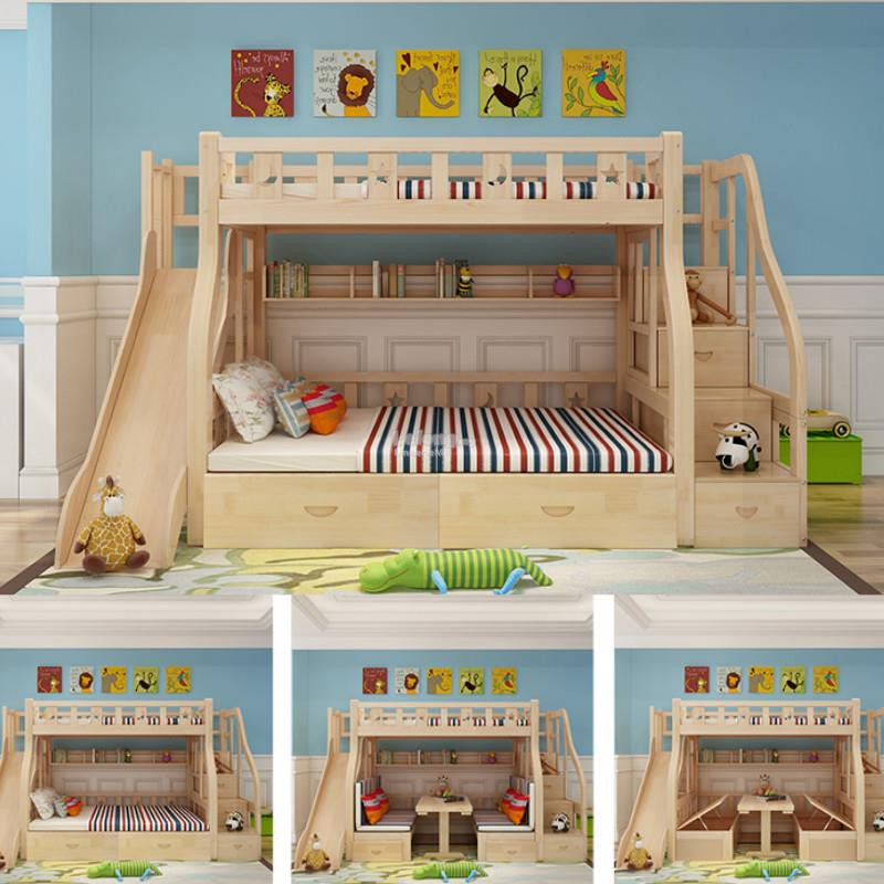 View Low Bunk Beds Background