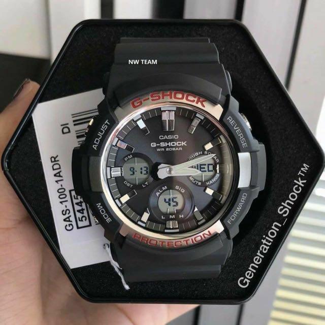 CASIO G-SHOCK SPORT MEN WATCH GAS100-1ADR Original & Genuine Worth RM699