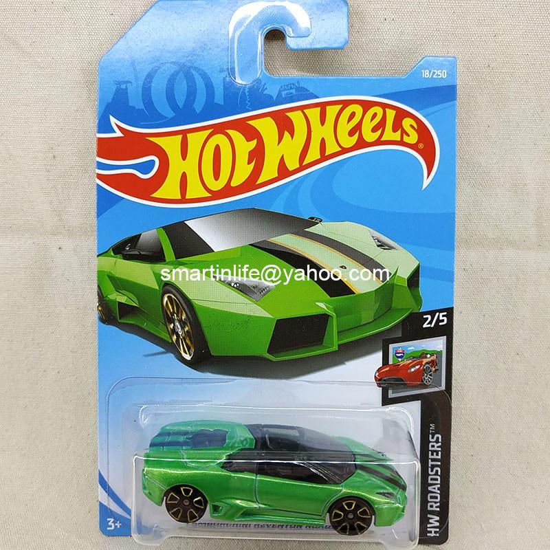 Hot Wheels Lamborghini Reventon Roadster Green 18 250 Shopee