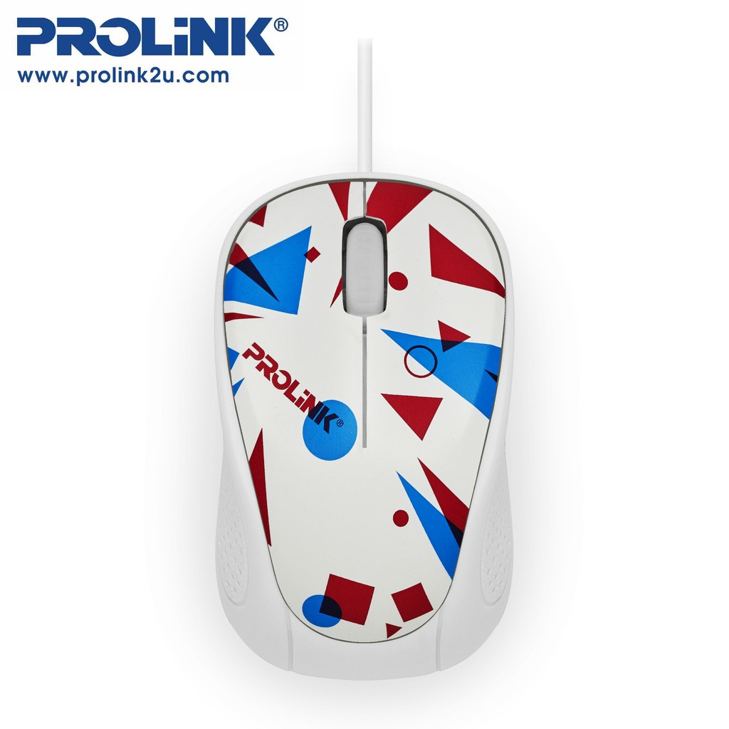 PROLiNK Stylish High Precision Artist Collection USB Optical Mouse Night Glowing PMC1005
