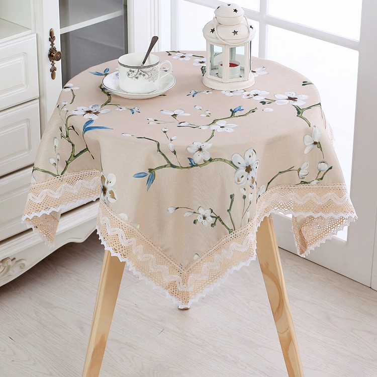 Coffee Tablecloth Rectangular Table Cloth Nordic Decor Dinner Round Table Cover Shopee Malaysia