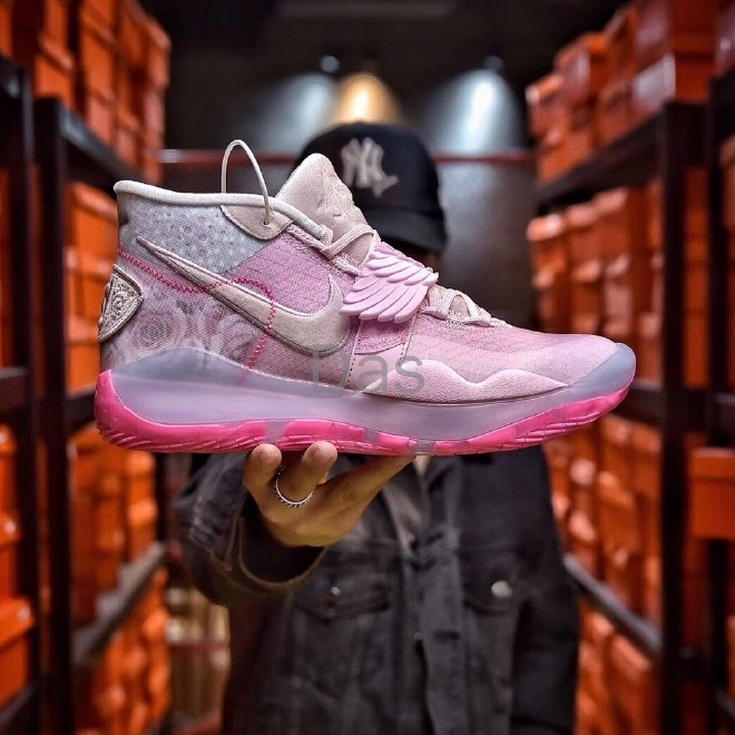 Nike Zoom Kd 12 Xmas Ep What The Aunt Pearl Breast Cancer Series Ct2744 900 Shopee Malaysia