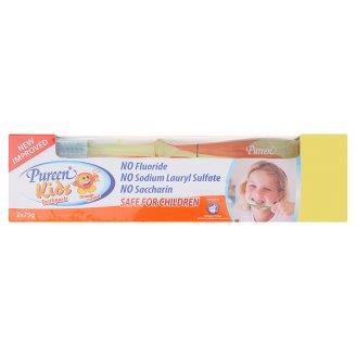 Pureen Kids Orange Flavour Toothpaste (2 x 75g)