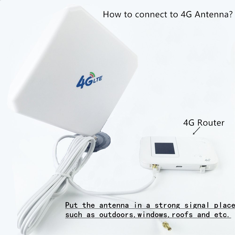 4G 3dbi Antenna TS9 Male Wifi Signal Booster Amplifier Mini Router Huawei Aerial