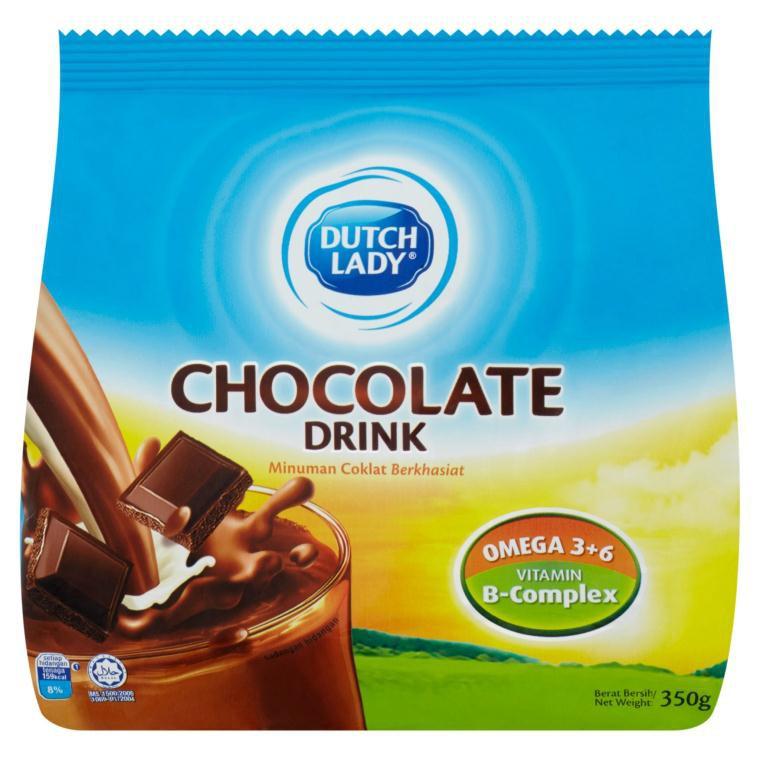 DUTCH LADY CHOCOLATE DRINK 350g   Shopee Malaysia