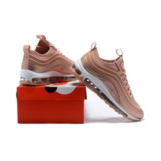 ca3fcc2cd14 Original NIKE AIR MAX 97 UL '17 SE Pink Men/Women Sneaker Size 36-45 ...