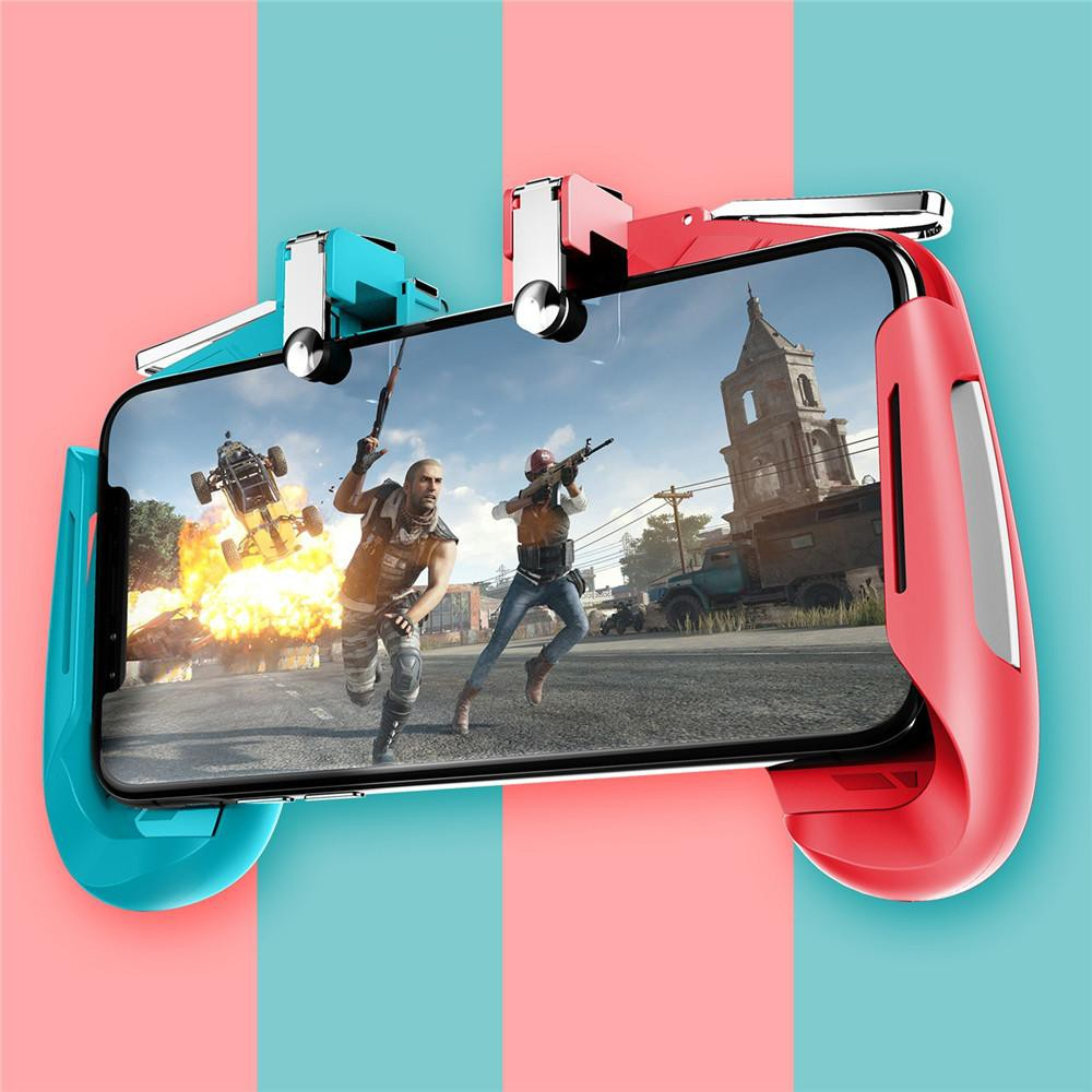 AK16 Gaming trigger Joystick Gamepad Mobile Phone Game Trigger joystick  Fire Button L1R1 Shooter Pubg Mobile Controller