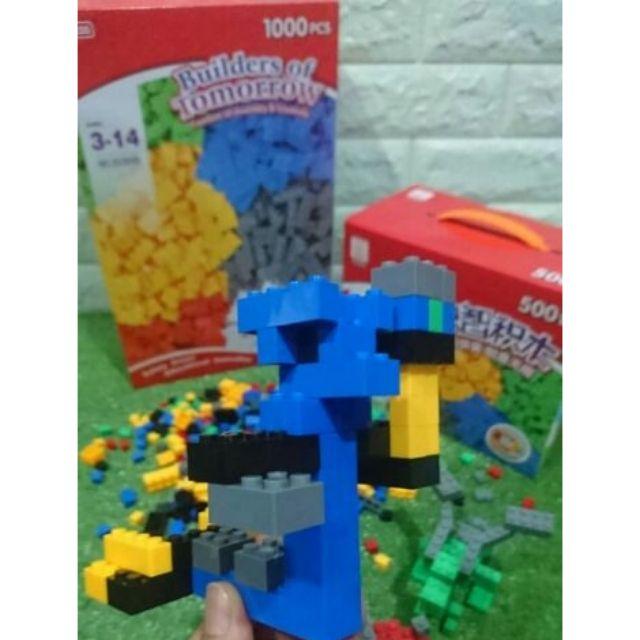 LEGOเลโก้1000ชิ้น งานMirrorเกรดAจ่ายเงินปล