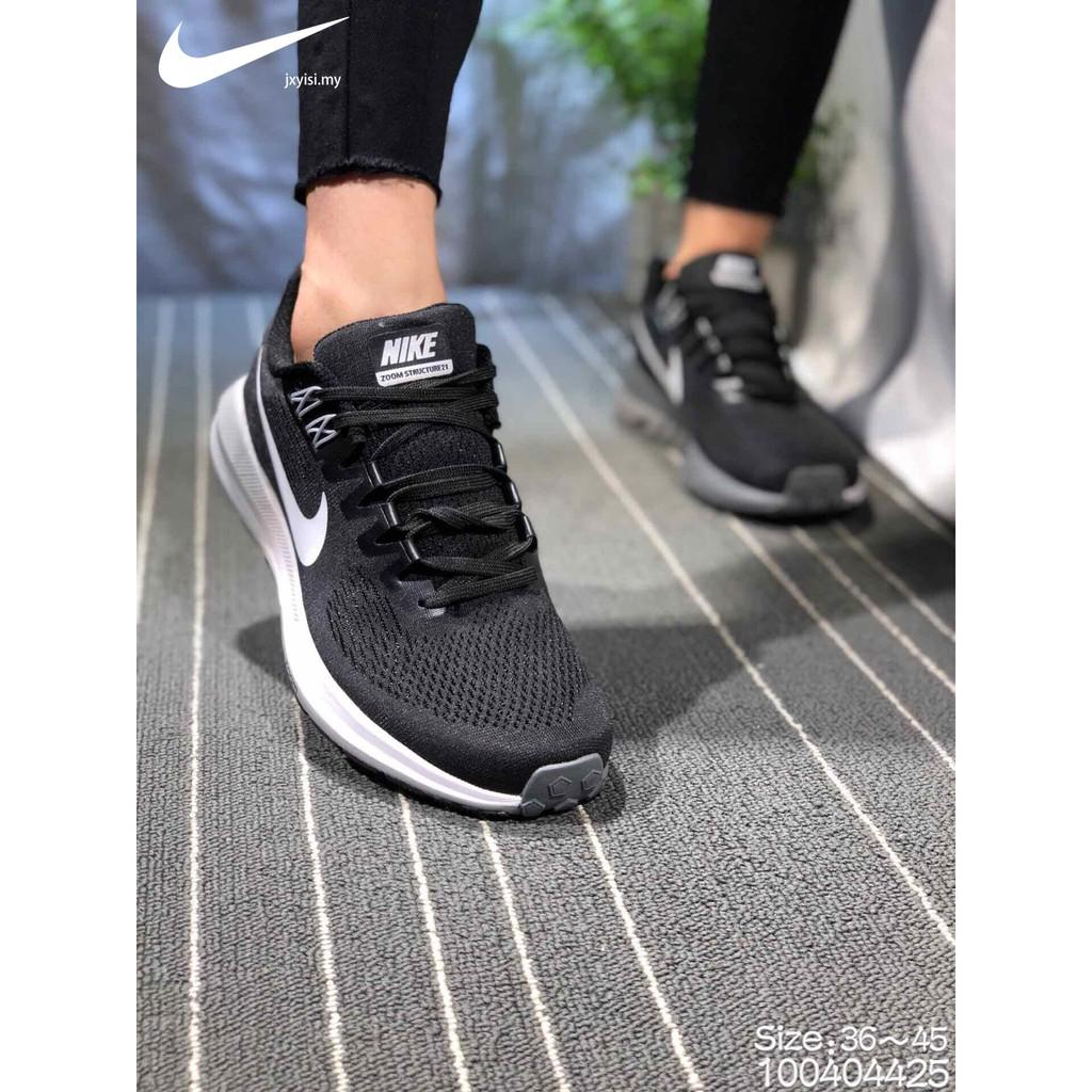 official photos e2e1a 6f050 Selling Nike Air Zoom Pegasus 21 mens Womens running sports knit grey GYM