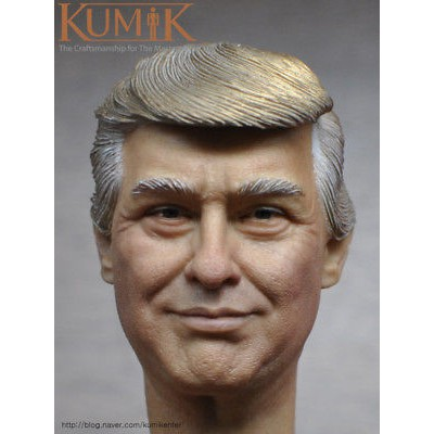 "American President Trump 1//6 Head Carving Sculpt Model for 12/"" Figure Body Doll"