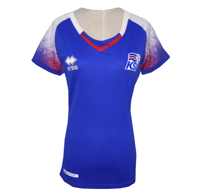 check out 94966 11fa4 Iceland Home women World Cup jersey 2018