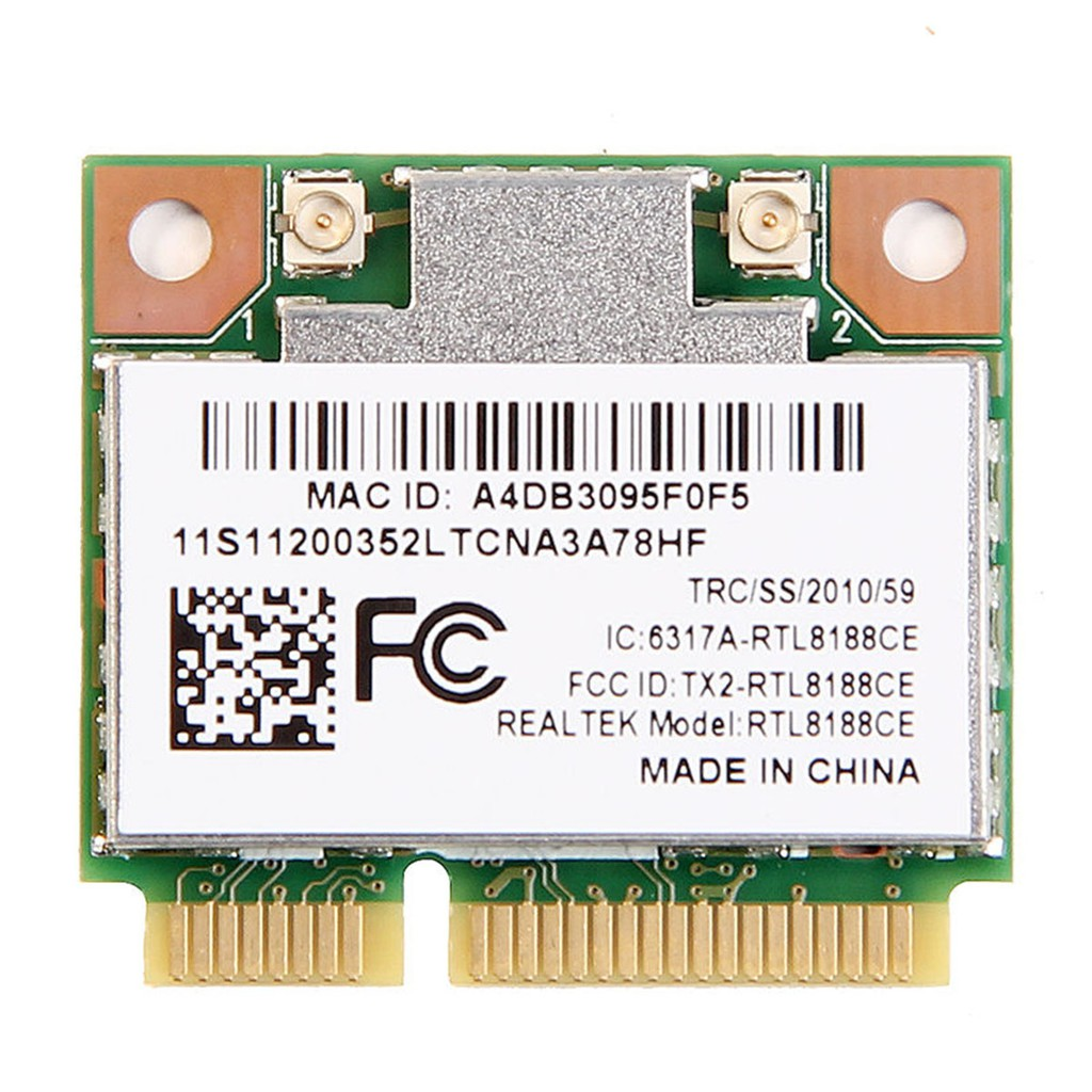 RealTek RTL8188CE 150Mbps Wireless Wifi PCI-E Wlan Card For Acer Asus  Toshiba